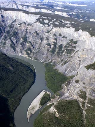 South Nahanni River, Nahanni National Park Reserve, Northwest Territories, Canada