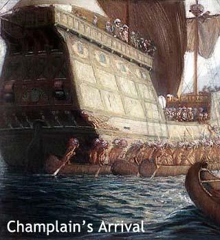 Champlaign arrival