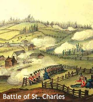 St Charles Battle