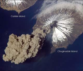 NASA Cleveland Volcano, alaska