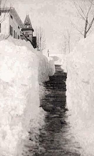snowfall, alaska