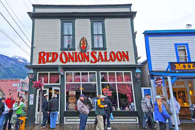 red onion bar skagway alaska