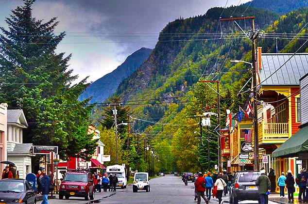 main street skagway alaska
