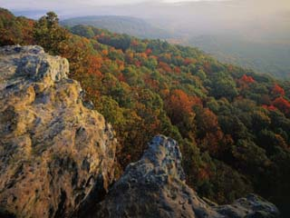 Autumn, Mt. Nebo State Park, Arkansas, USA