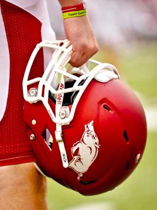 University of Arkansas: Arkansas Razorback Helmet