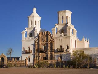Mission San Xavier Del Bac, Tucson, Arizona, United States of America, North America