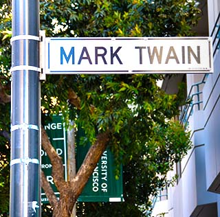 mark twain san francisco
