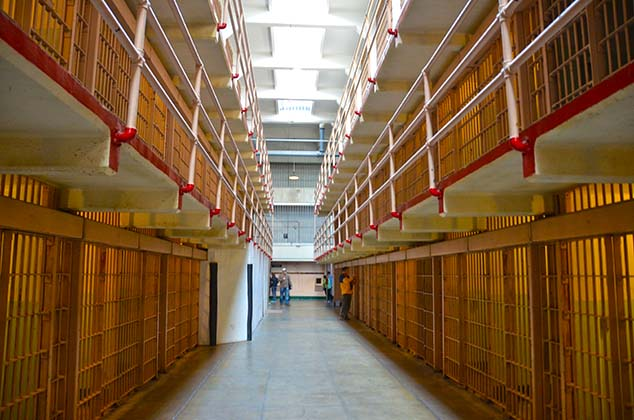 alcatraz cell block