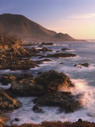 Rocky Coastline of Big Sur