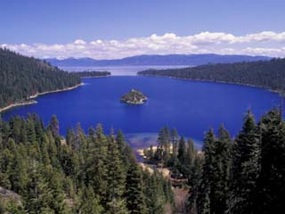 Emerald Bay, Lake Tahoe, California, USA