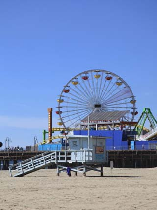 Santa Monica Pier, Santa Monica, Los Angeles, California, United States of America, North America