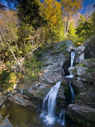 Kent Falls, Connecticut, USA