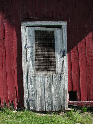 ice house door