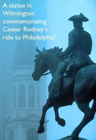 caesar rodney monument