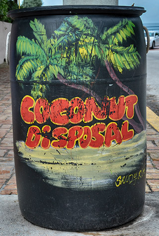 coconutv trash bin key west