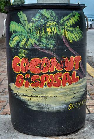 coconutv trash bin key west