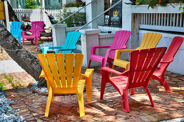 Key West Porch View