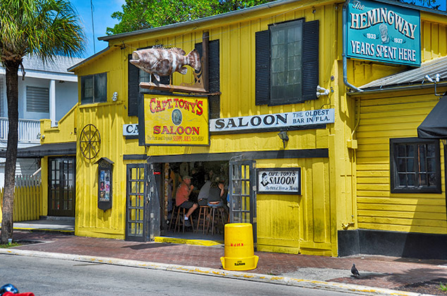 colorful saloon key west