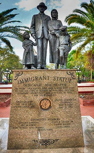 immigrants ybor city florida
