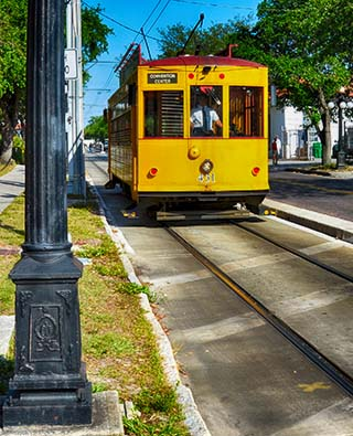 ybor city florida trolley