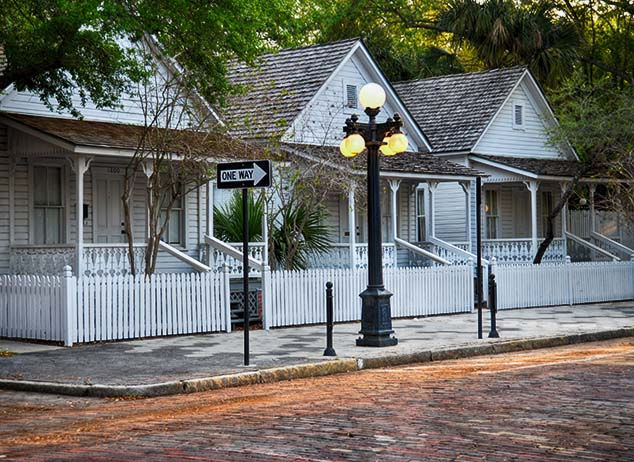 row houses tbor city florida