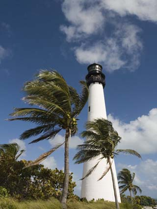 Cape Florida Lighthouse, Key Biscayne, Miami, Florida
