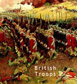 british troops