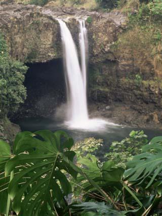 Rainbow Falls, Hilo, Island of Hawaii, Hawaiian Islands, USA
