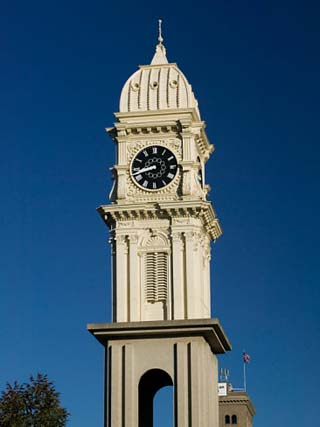Town Clock On Main Street, Dubuque, Iowa