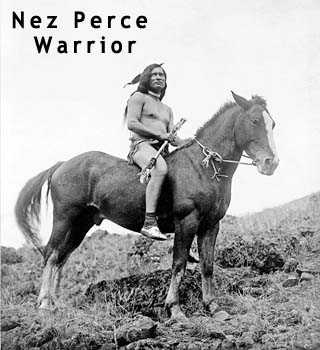 Nez Pierce Warrior