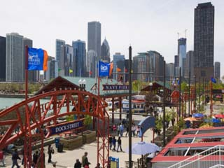 Navy Pier, Chicago Illinois, United States of America, North America