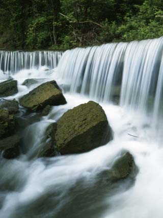 Deep Creek Falls, Kansas, USA