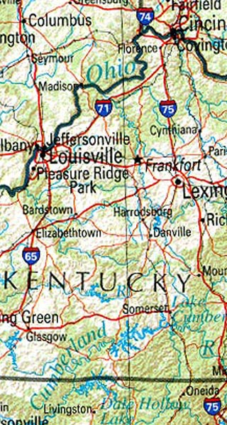 kentucky maps