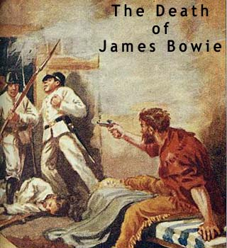 james bowie death