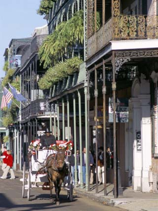 French Quarter, New Orleans, Louisiana, USA