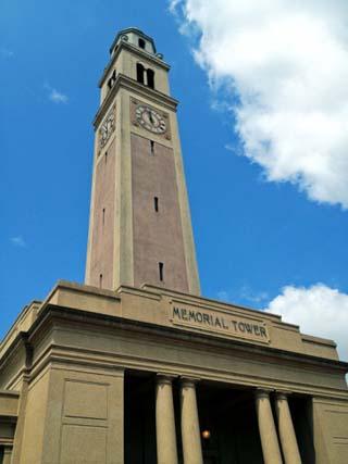Louisiana State University: Memorial Tower