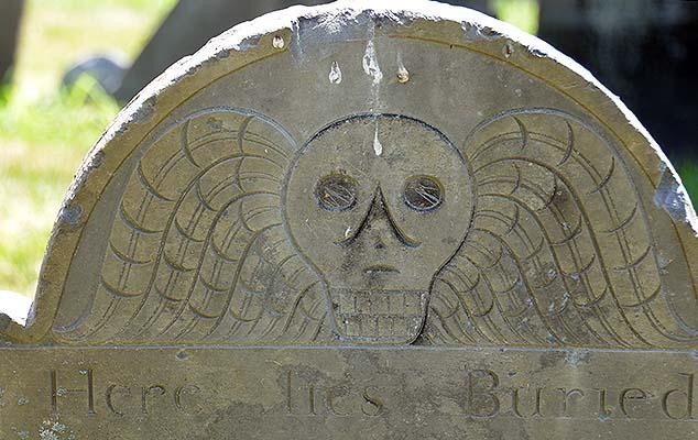 burial head