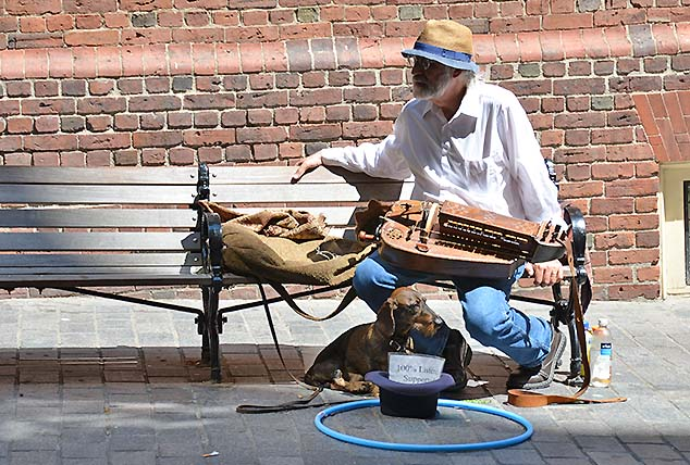 street entertainer boston