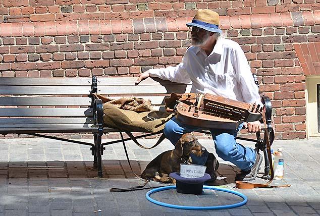 street entertainer boston
