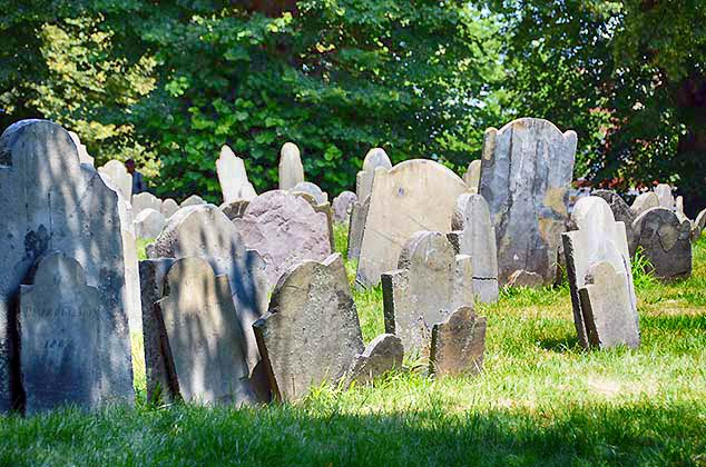 copp's hill gravestones