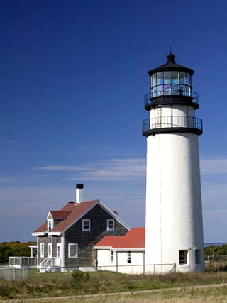 Cape Cod Lighthouse, Truro, Cape Cod, Massachusetts, USA