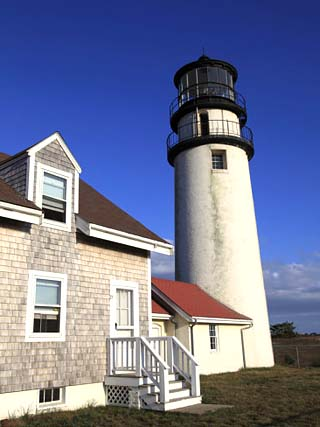 Cape Cod Highland Lighthouse, Highland Light, Cape Cod, North Truro, Massachusetts, New England, Un