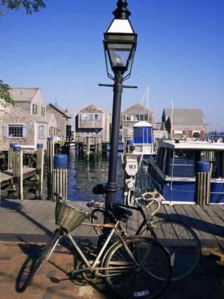 Bicycles, Nantucket, Massachusetts, New England, USA