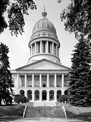 maine's state capitol