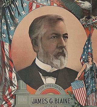 james blaine poster