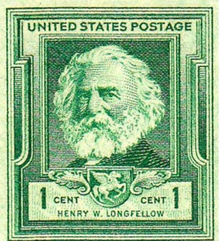 longfellow stamp