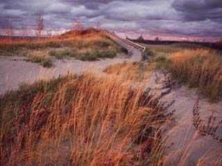 Sleeping Bear Dunes National Lakeshore is Located on the Northeast Side of Lake Michigan