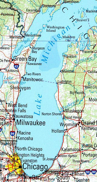 michigan maps