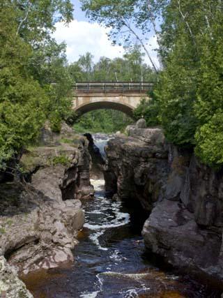 Temperance River State Park, Schroeder, Minnesota, USA