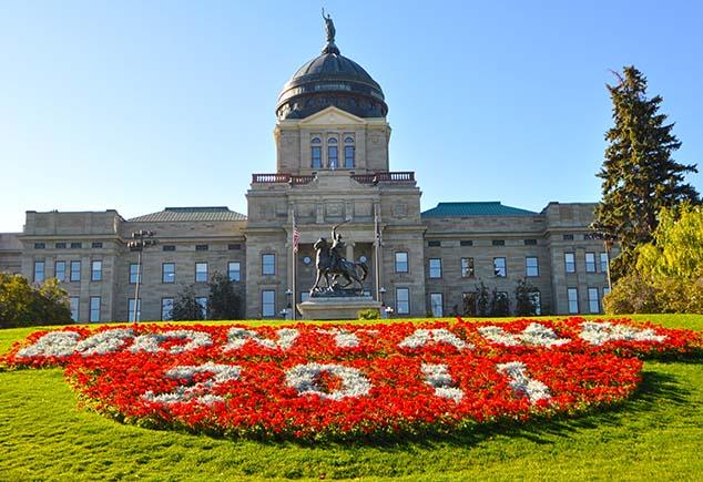 montana state capital building helena